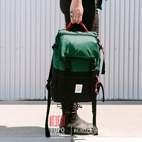Topo Designs Rover Pack Forrest Black