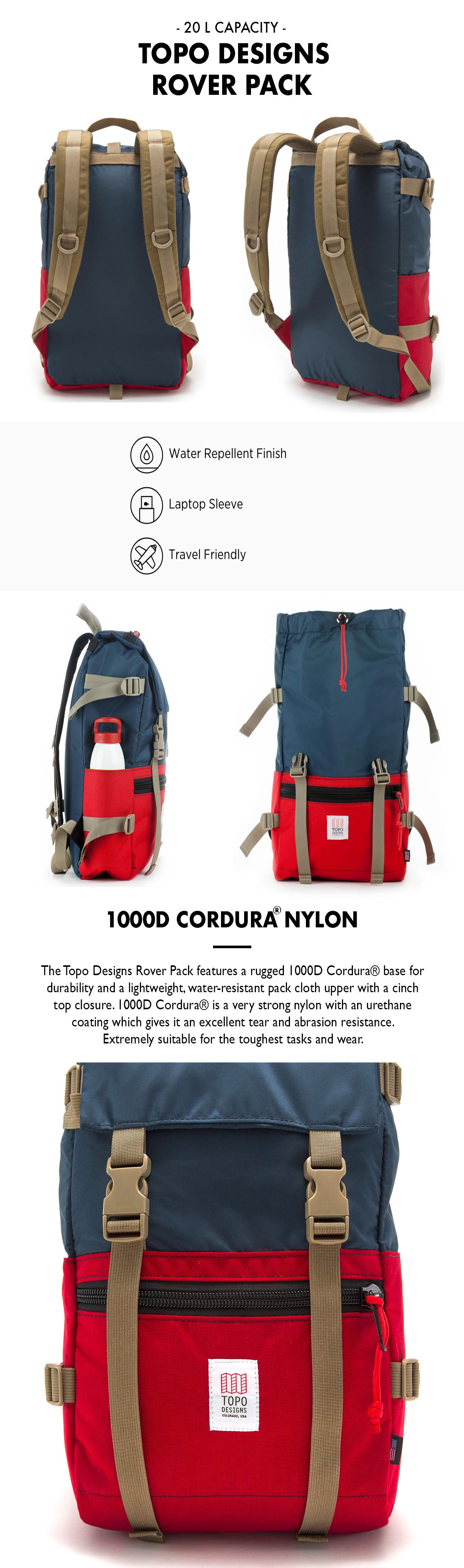 Topo Designs Rover Pack Productinformation