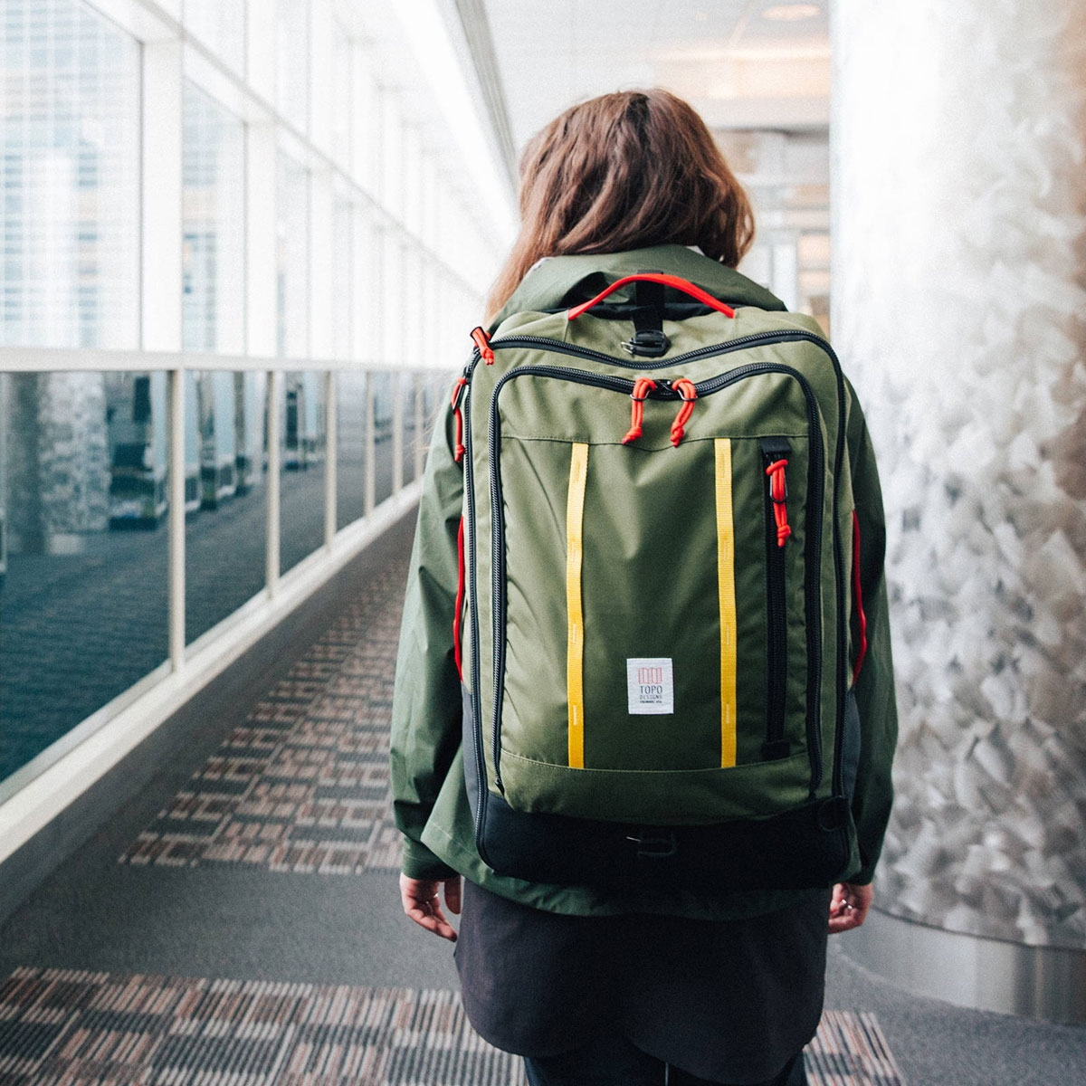 Topo Designs Travel Bag, the most versatile travel bag