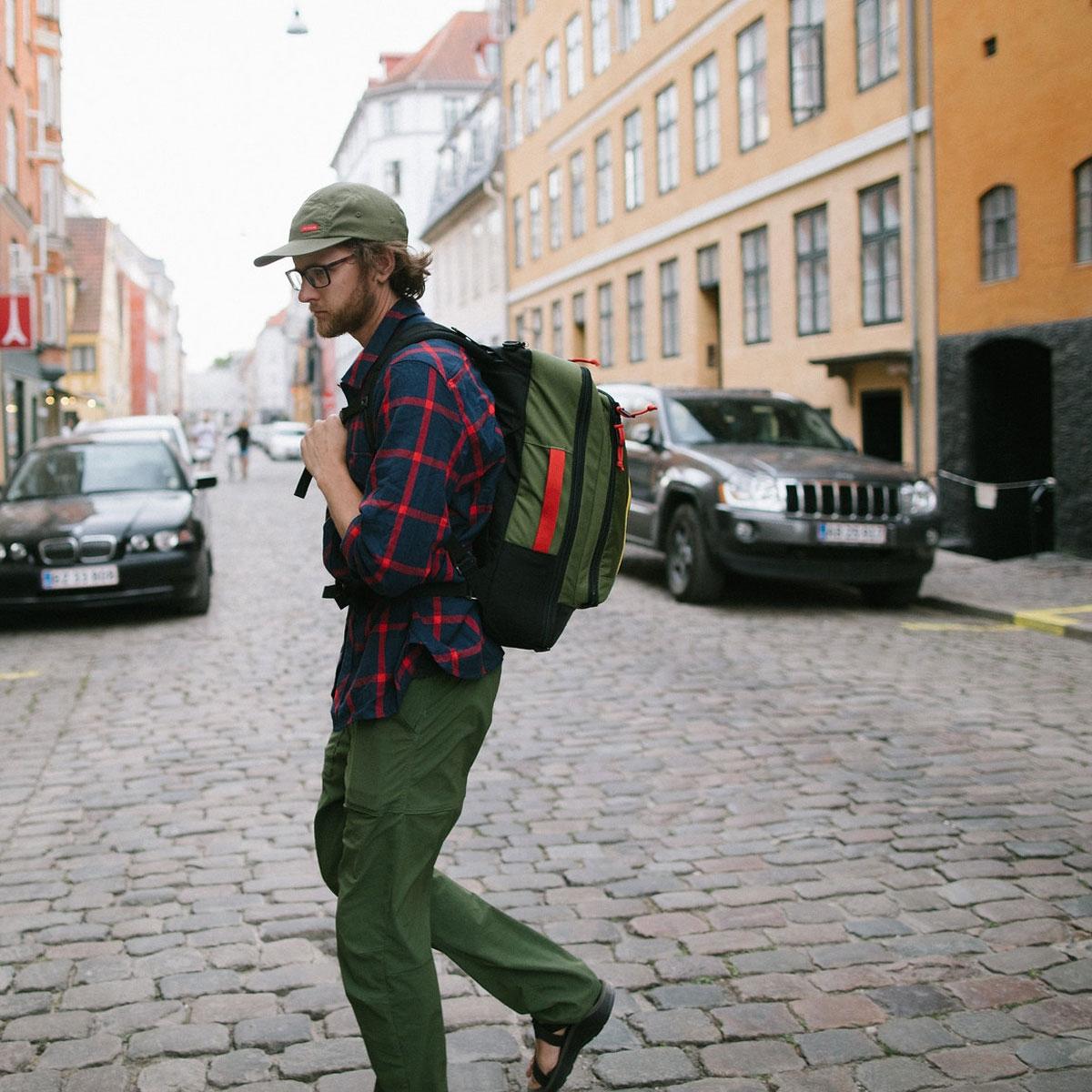 Topo Designs Travel Bag Olive, the most versatile travel bag