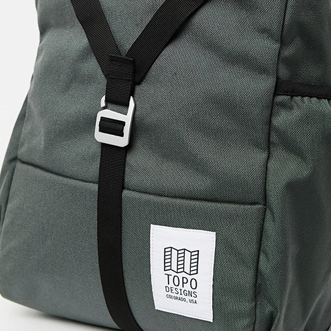 Topo Designs Y-Pack Charcoal