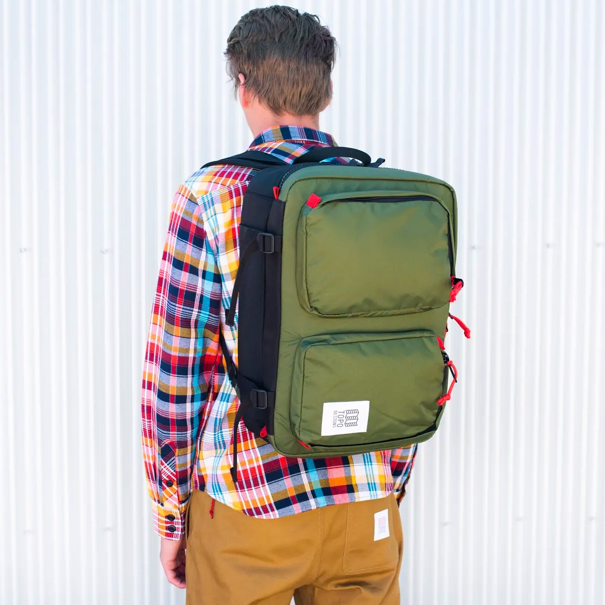 Topo Designs Global Briefcase 3-day, the perfect bag for everyday carry or 3-day weekends
