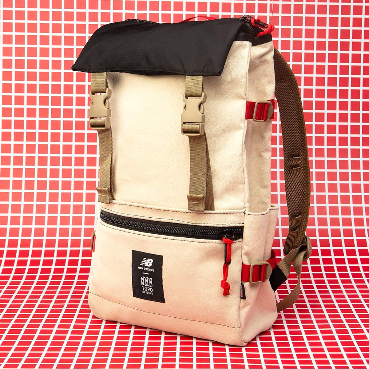Topo Designs x New Balance Rover Pack, timeless backpack with great features