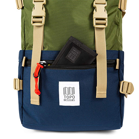 Topo Designs Rover Pack Classic, detail frontpocket