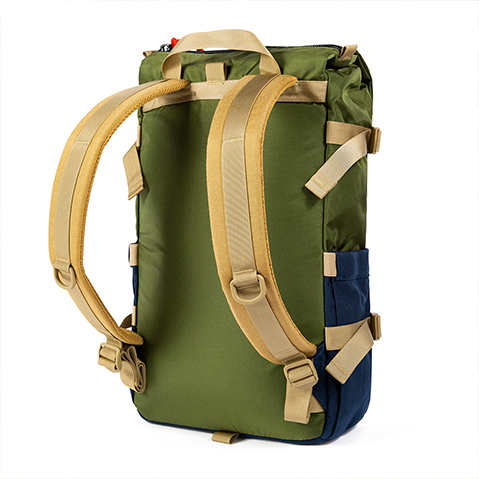 Topo Designs Rover Pack Classic, backpanel
