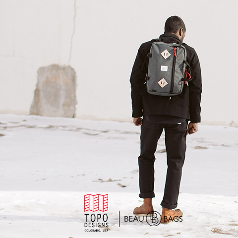 Topo Designs Mountain Briefcase Charcoal, The ultimate briefcase for everyday use