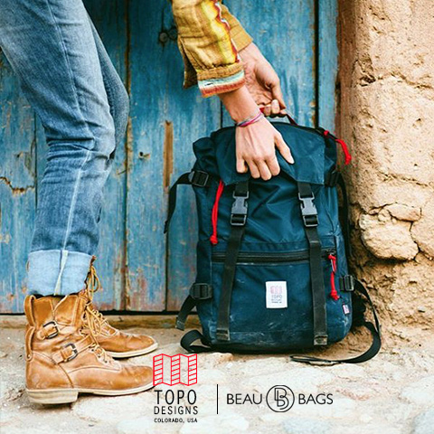 Topo Designs Rover Pack Navy, durability and a lightweight, water-resistant pack for daily use