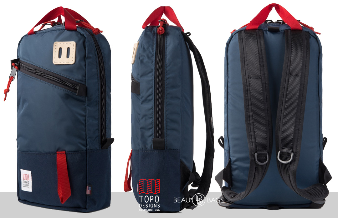 Topo Designs Trip Pack navy, perfect bag for a day trip